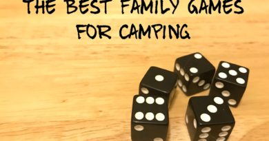 The Best Family Games for Camping